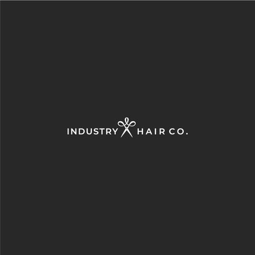 Hair Salon Elegant Logo Design