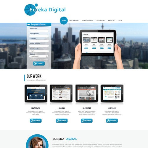 Simple easy to do design website - from an easy to work with client