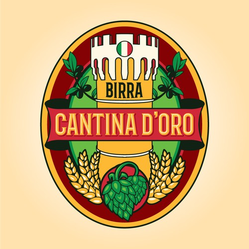 Logo For Italian Brewwery