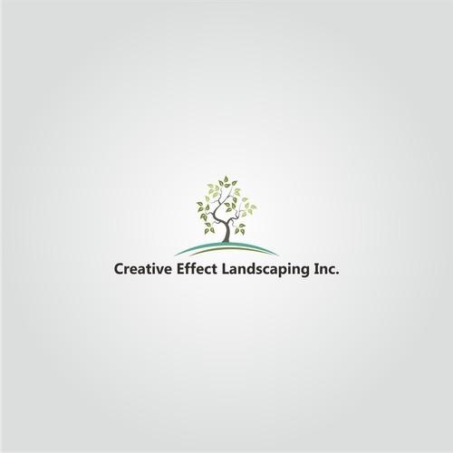 Creative Effect Lanscaping, inc logo