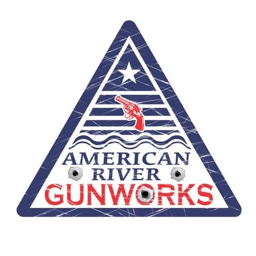 Logo Design for AR Gunwork