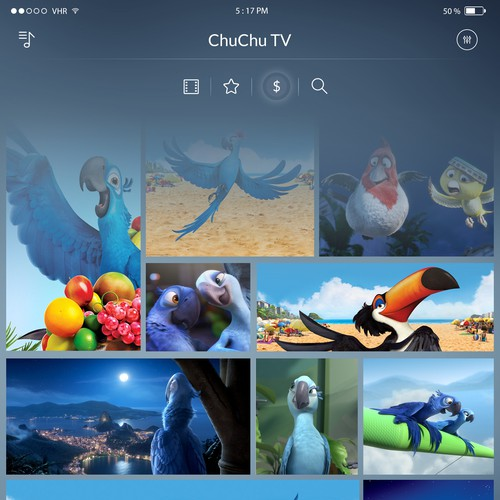 Chu Chu TV App Redisign
