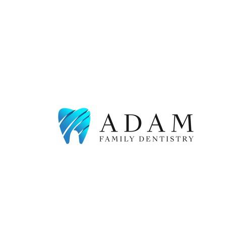 ADAM FAMILY DENTISTRY Logo Conceptt