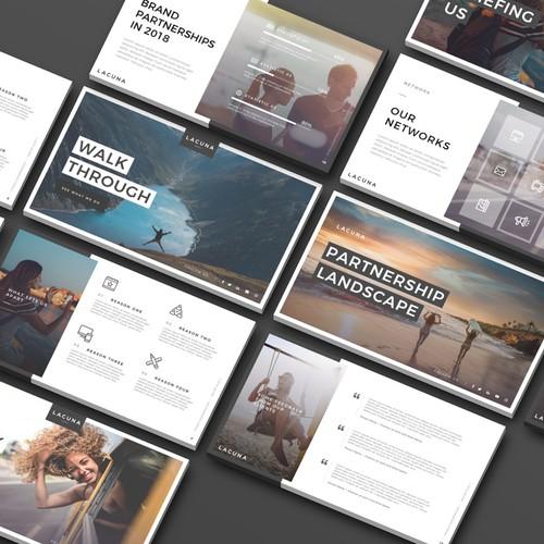 Presentation Design for Lacuna