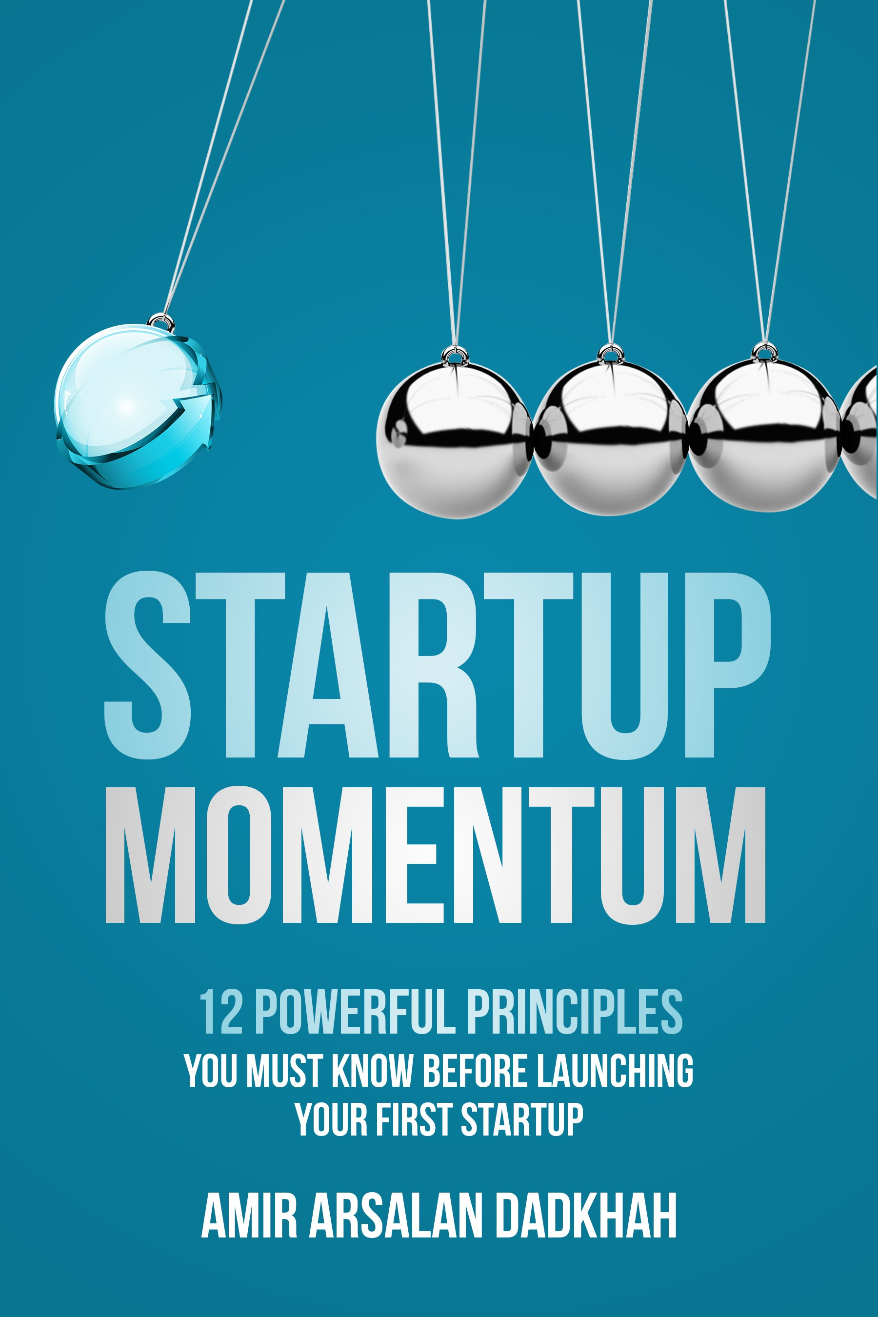 Catchy and modern cover design for book for young entrepreneurs