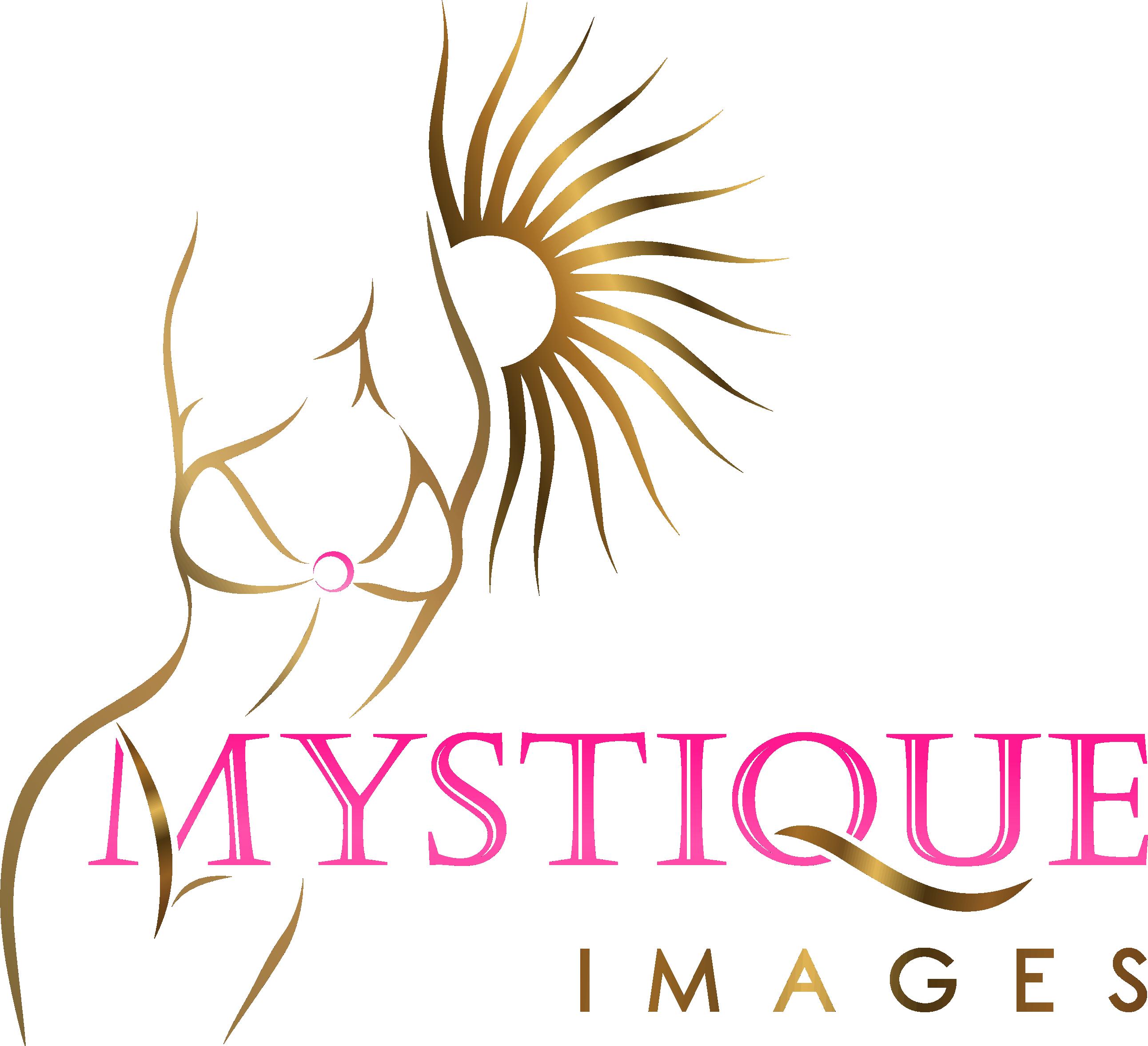 Mystique Images - Logo for tourism based swimwear modeling experiences