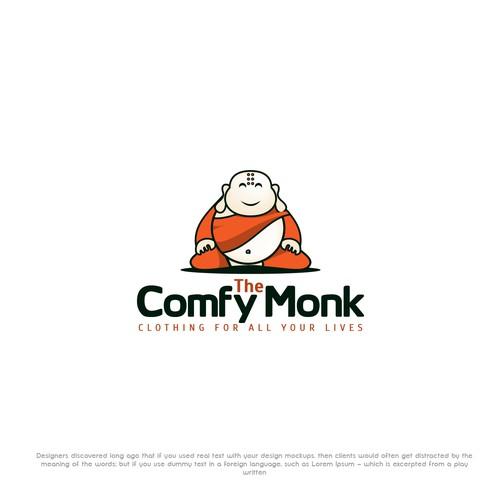Cofy monk logo