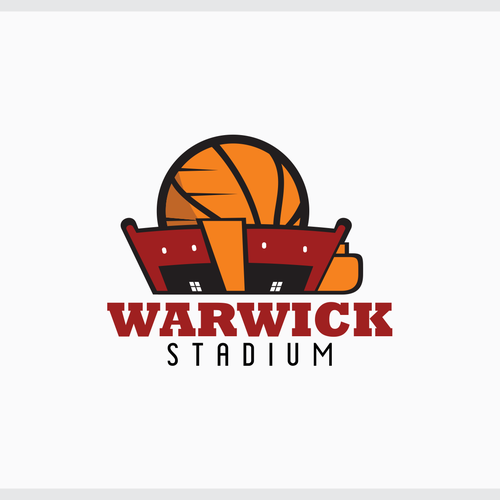 Create innovative Basketball Stadium logo