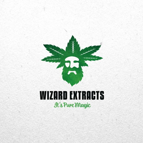 Creative logo for Wizard Extracts