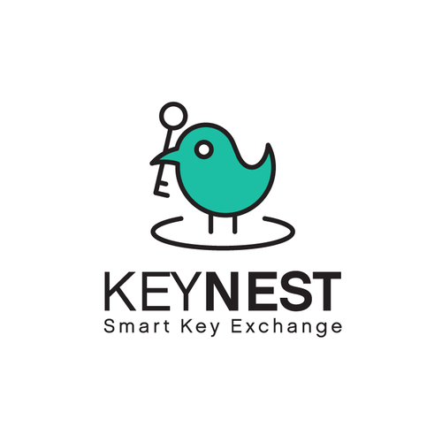 Logo for apartment key safety company