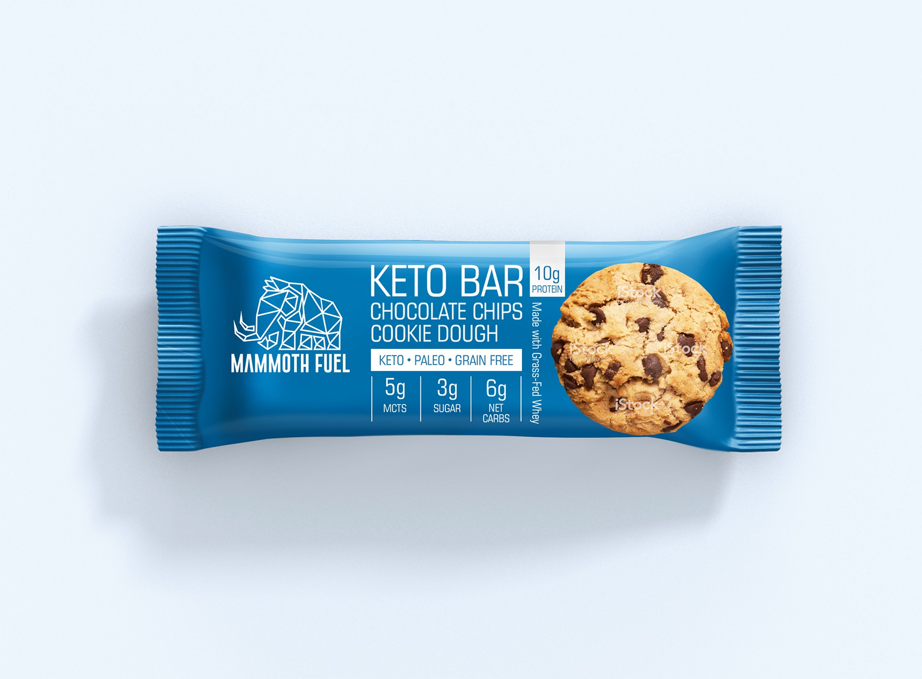 Packaging Design For Keto Protein Bar