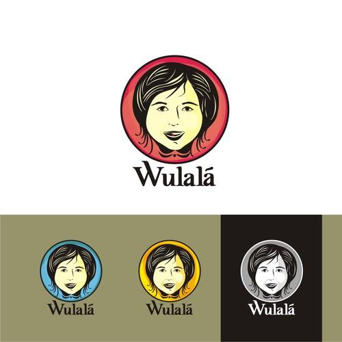 Imagina una ilustración de una niña con ilusión de triunfar algún día para Wulalá!
