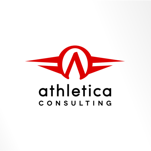 Athletica Consulting Logo Design