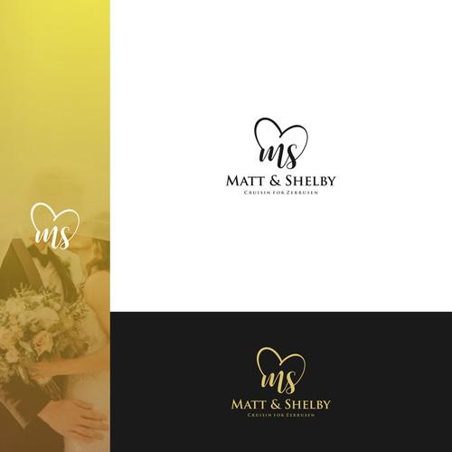 Create Logo design For Matt and Shelb