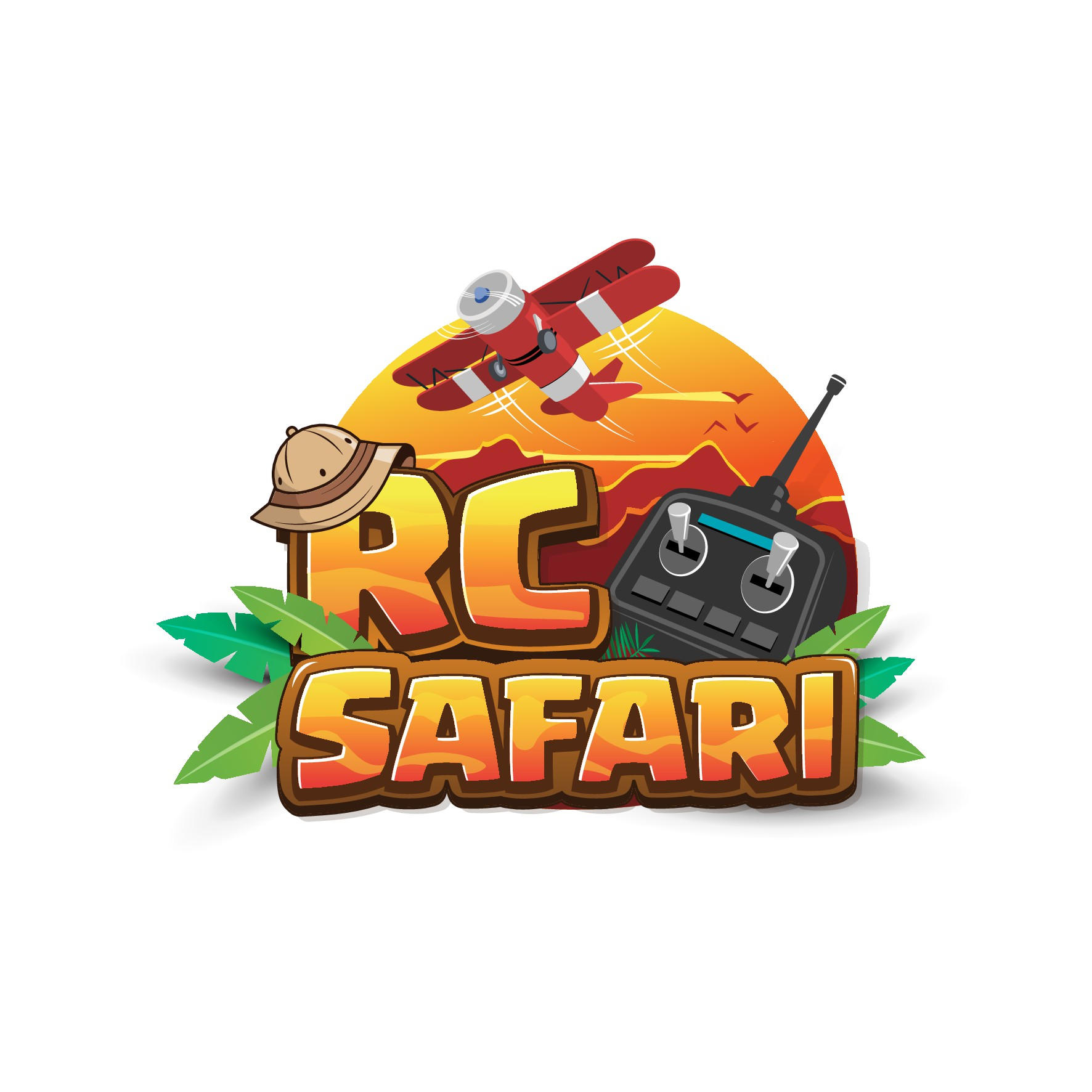 Online Show, RC Safari, looking for Logo & YouTube background!