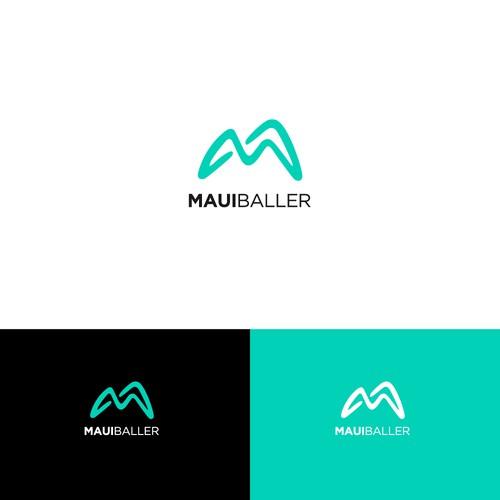 minimal m logo
