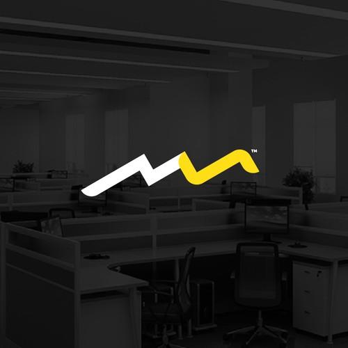 Logo Letter MS