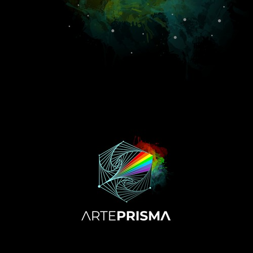 Logo concept for the industry of arts.