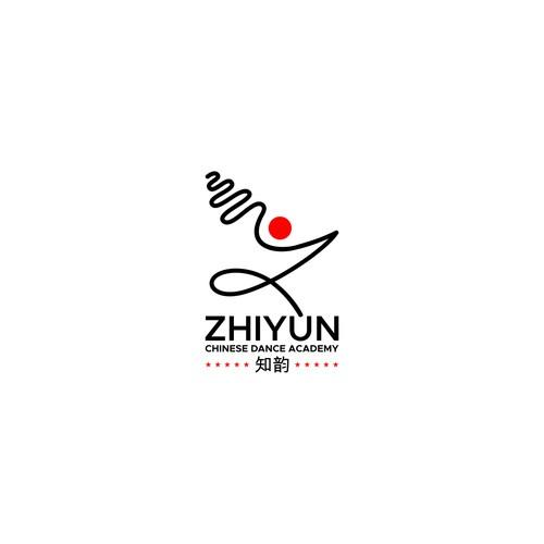 Dance line letter Z logo