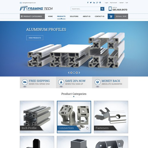 Aluminum T-Slotted Framing Products Company