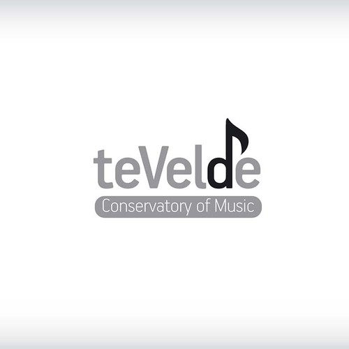Create a professional logo for a conservatory of music