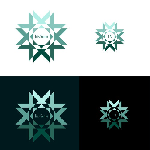 Energetic Logo for Iris Santo