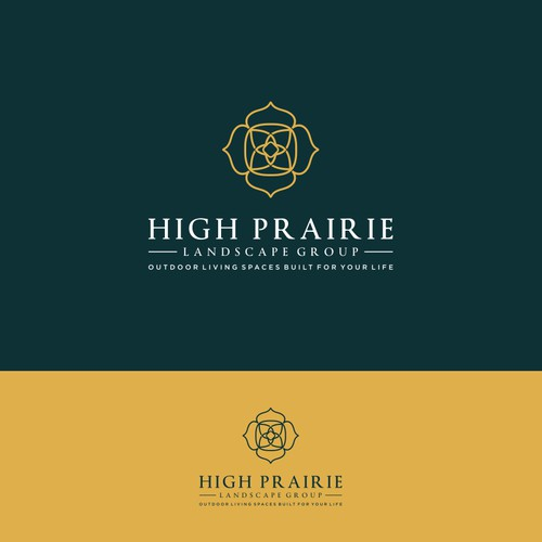 Logo Concept for High Prairie Landscape Group