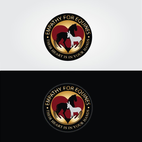 Logo for equine veterinary services