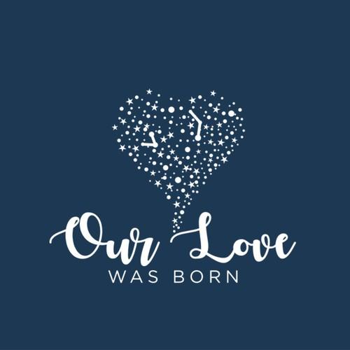 Our Love Was Born Logo Design