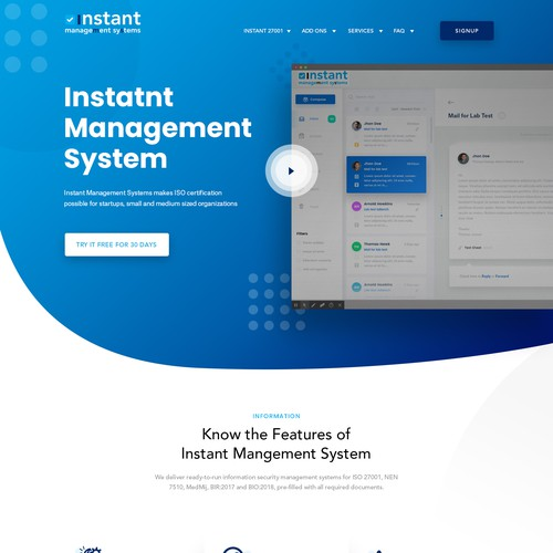 Instant Management Systems