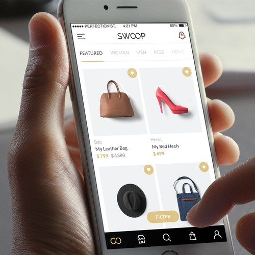Fashion E-commerce iOS app