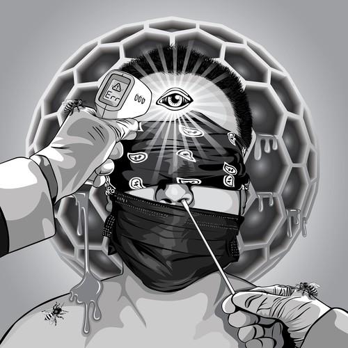 Blindfolds Not Mandatory Illustration