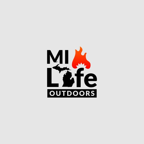Logo for podcast about outdoor lifestyle