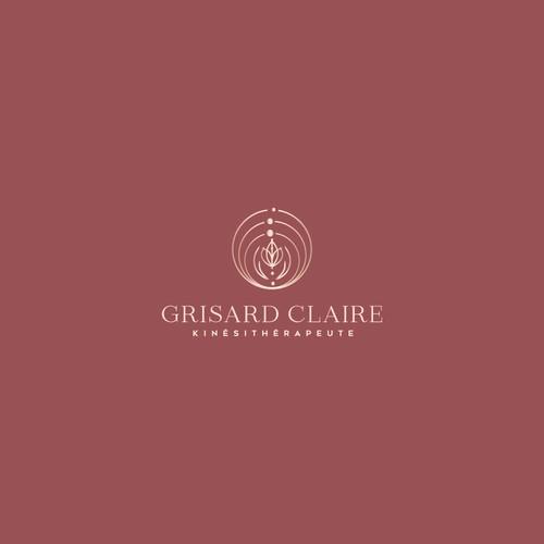 Grisard Claire logo design