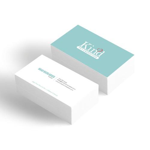 Unique pet service business card