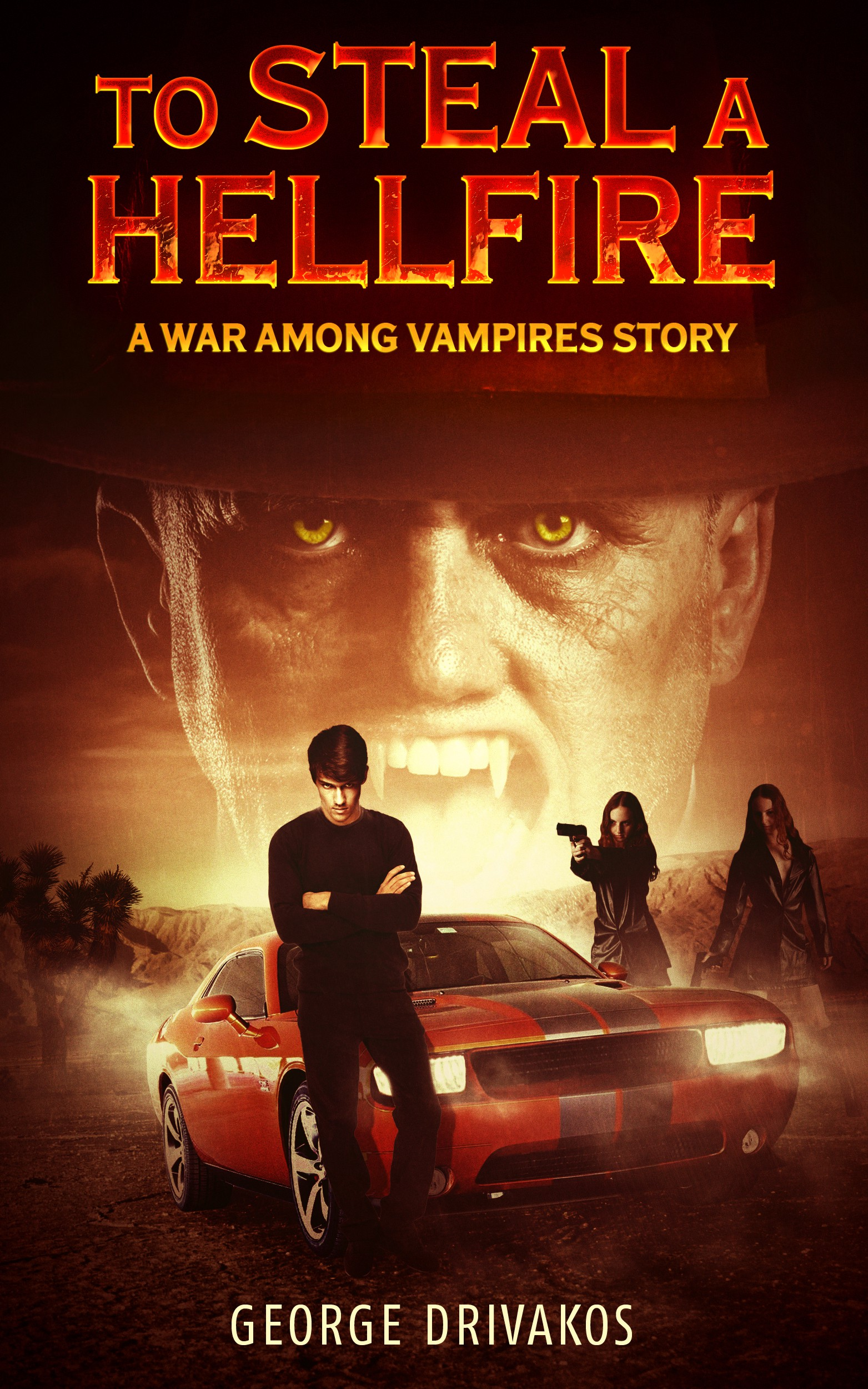Create a book cover for my Vampire story to be published on Amazon Kindle