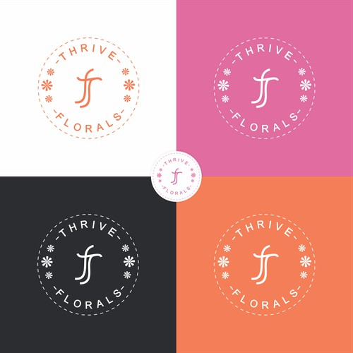 Logo Concept for Thrive Florals