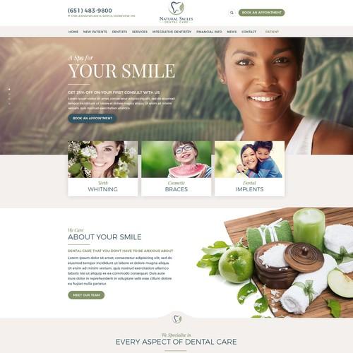 Dental Spa proposal design