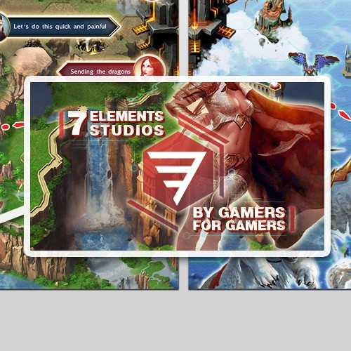 iTunes landing page, store design images