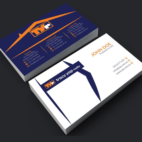 Real Estate Company Business Card