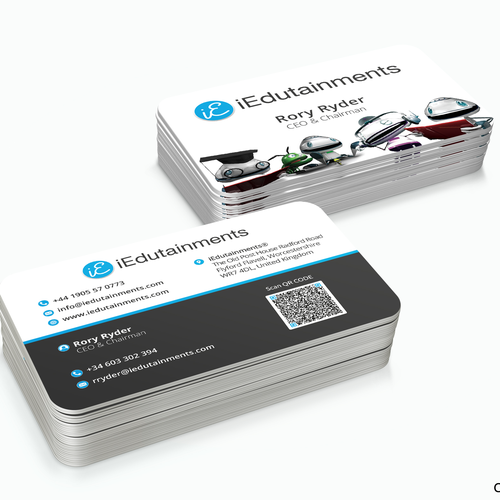 Bussined Card for iEdutainments®