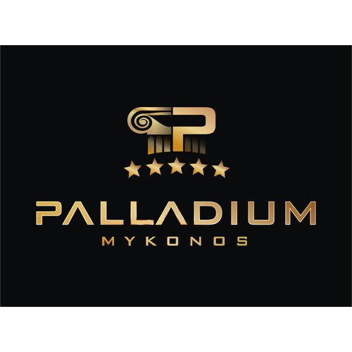 Palladium 5 stars Hotel in Mykonos needs a new logo