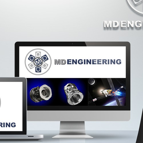Create a new logo for a major US Aerospace Manufacturer - MD Engineering