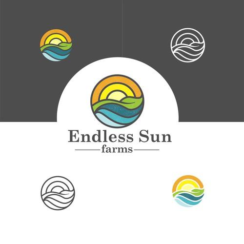 new modern farm logo
