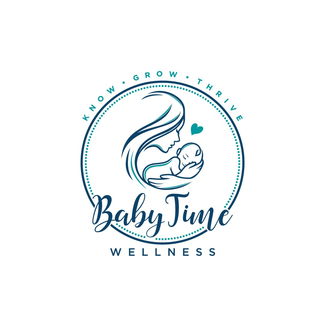 Design a chic logo for a dynamic pediatric and maternal wellness company