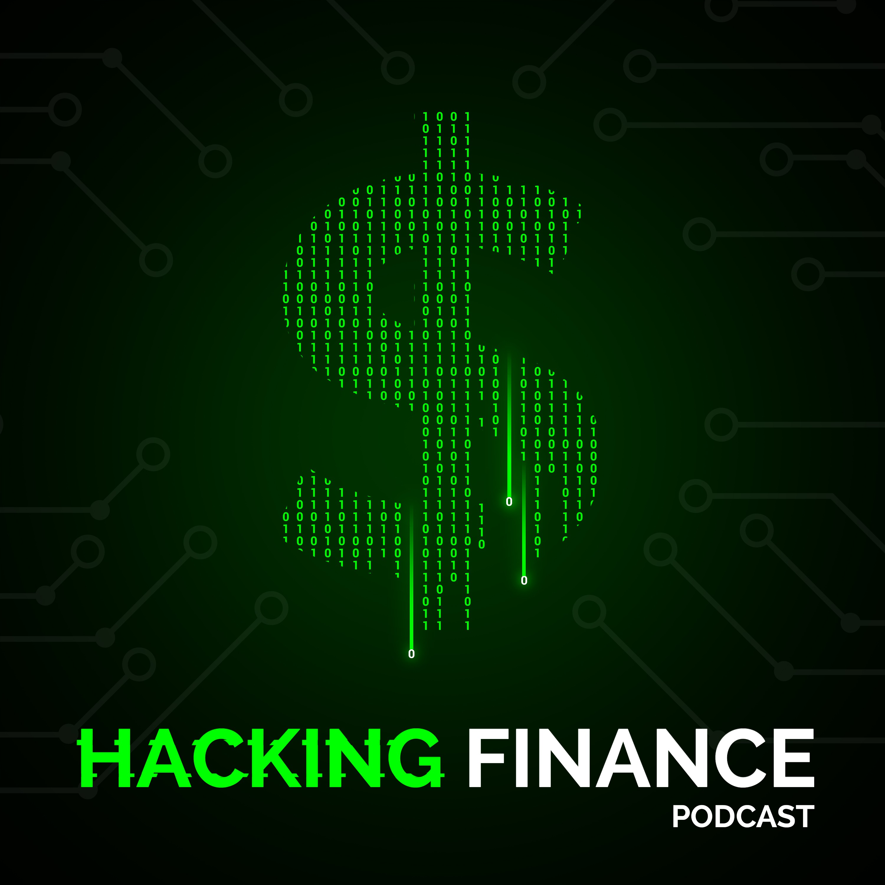 Hacking Finance podcast needs an album cover to attract startup founders