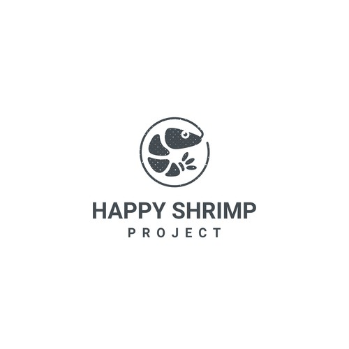 Logo idea for Happy Hrimp Project