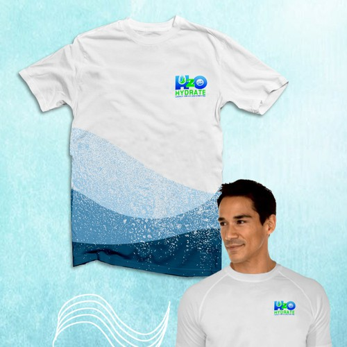 Waves and drops Design