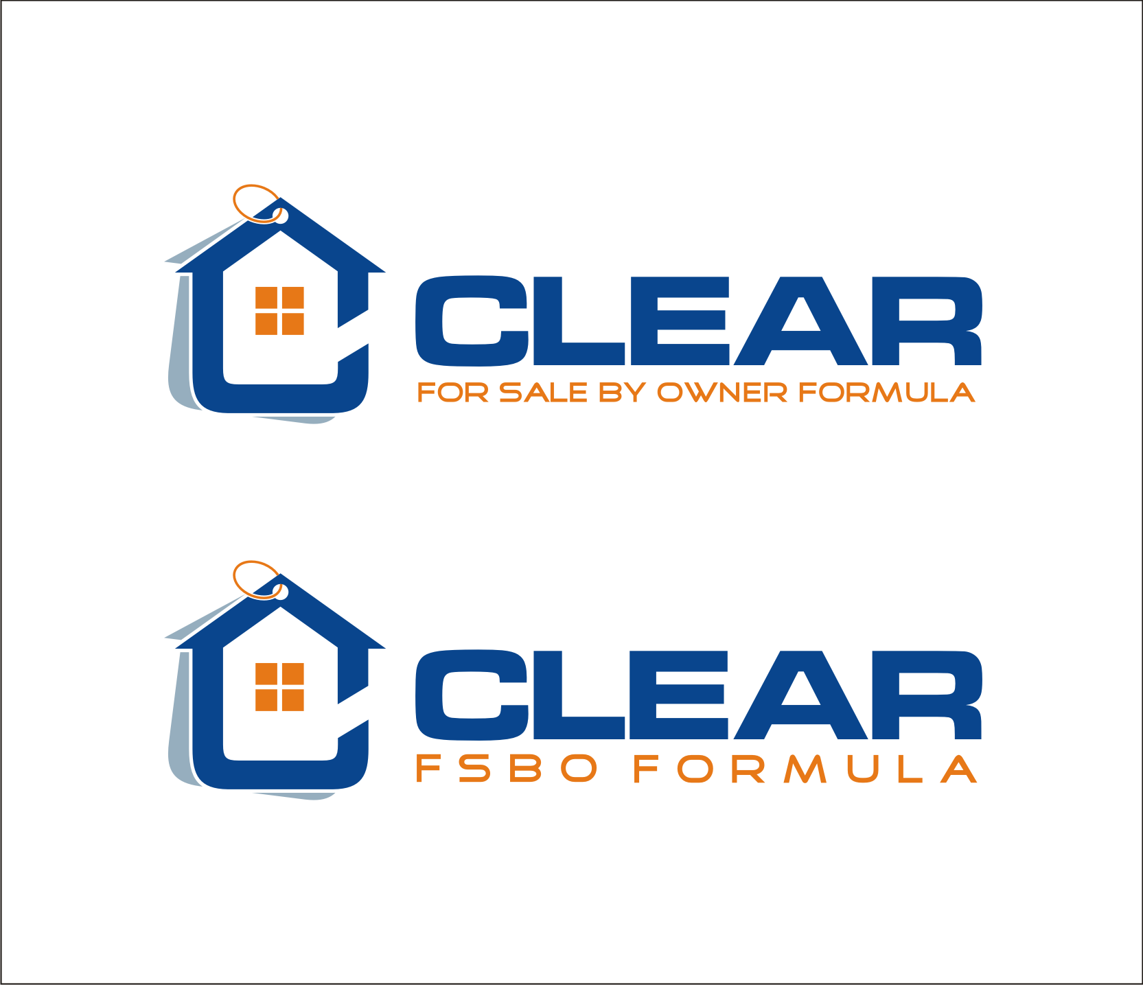 Create a logo for the best online home seller course on the market