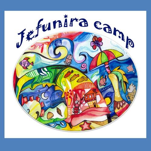 Annual Summer Camp logo design